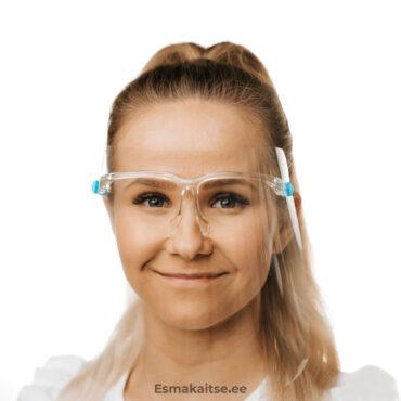 Näovisiirid prillidegaprillidega