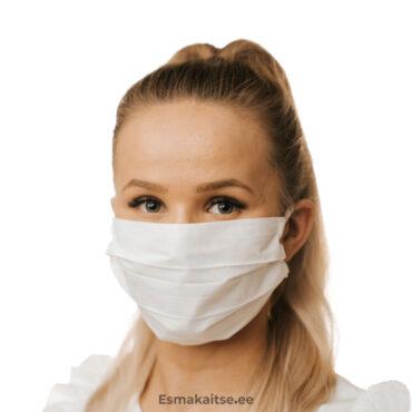Korduvkasutatav valge mask-1