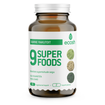 SuperGreen 9-SUPERFOODS 90tk