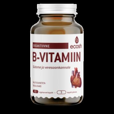 B-VITAMIIN SÜDAMELE – Bioaktiivne 90tk
