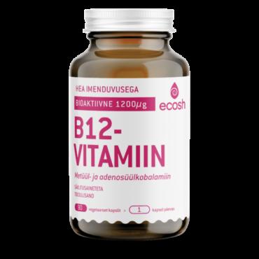 B12 VITAMIIN – Bioaktiivne 90tk