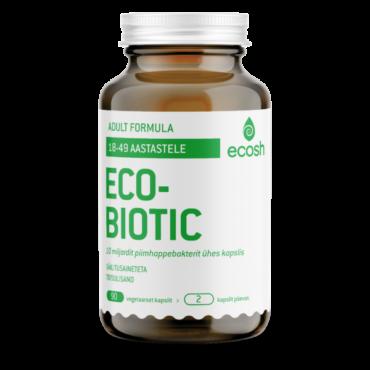 ECOBIOTIC – Adult Probiootikumid 90tk