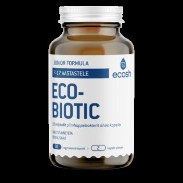 ECOBIOTIC JUNIOR – Probiootikumid noortele 90tk