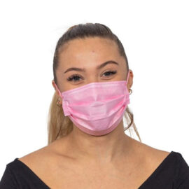 Roosa kirurgiline mask