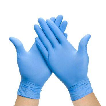 Sinised nitriilkindad