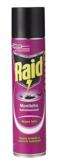 Raid Moniteho hyönteisaerosoli 400ml
